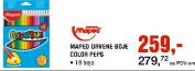 Mapet Drvene boje, Color Peps