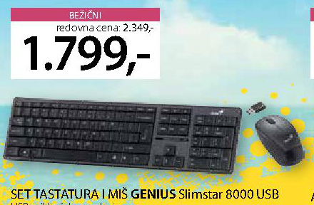 Tastatura i miš