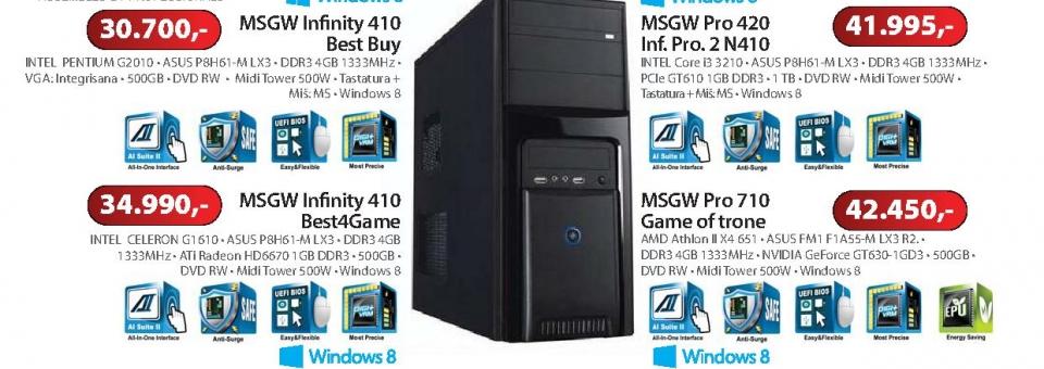 Računar Pro 420 (Inf. Pro. 2 N410)