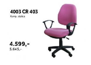 Kompjuterska stolica 4003 Cr 403