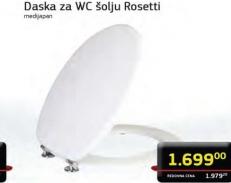 Daska za WC šolju Rosetti