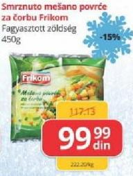 Smrznuto povrće za čorbu