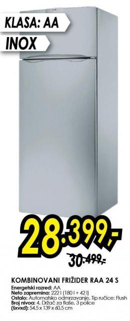 Kombinovani frižider Raa 24 S