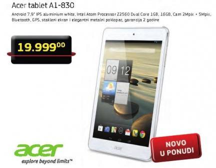 Tablet A1-830