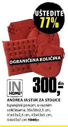 Jastuk za stolicu  Andrea