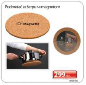 Podmetači za šerpu sa magnetom
