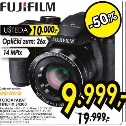Digitalni Fotoaparat FinePix S4300