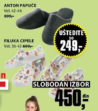 Papuče Filuka