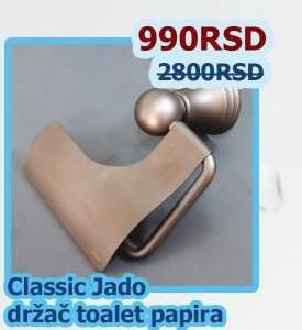 Držač toalet papira Classic Jado