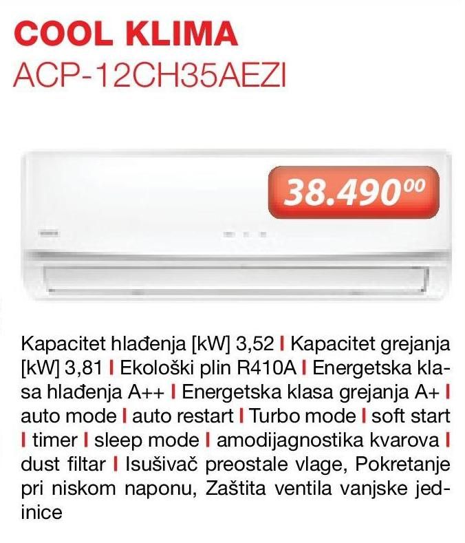 Klima ACP 12 CH35AEZI