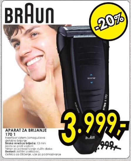 Aparat za brijanje 170 1