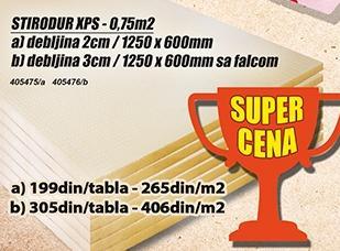 Stirodur Xps 2cm