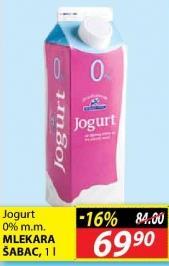 Jogurt 0% mm