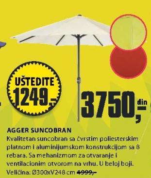 Suncobran AGGER