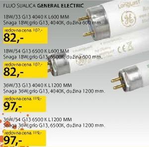 Fluo Sijalica 36W/54 G13 General Electric