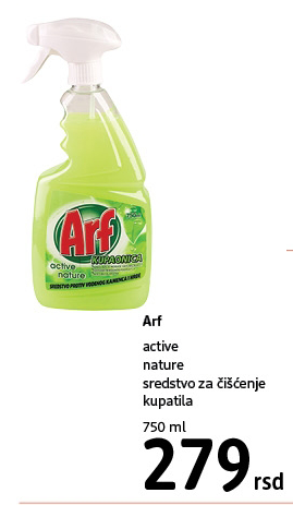 Sredstvo za čiscenje sanitarija active nature