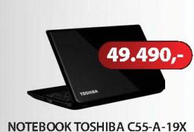 Notebook C55-A-19X