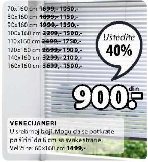 Venecijaneri 120x160cm