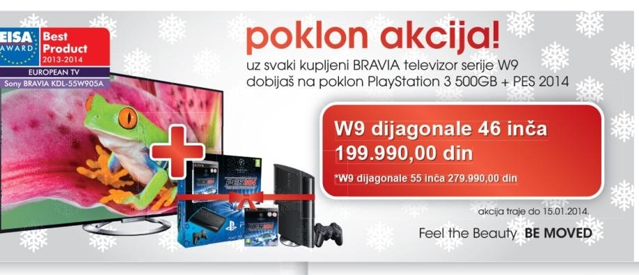 LED Televizor KDL 55W905