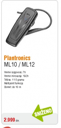 Slušalica bluetooth ML10/ML12