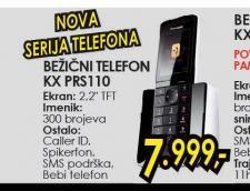 Bežični telefon KX-PRS110FXW