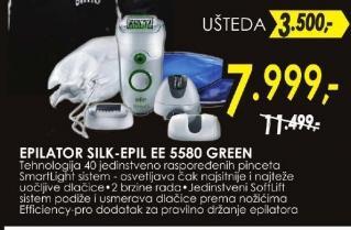 Epilator Silk-epil EE 5580 GREEN