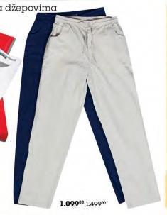 Pantalone sa džepovima