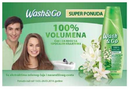 Wash & Go super ponuda