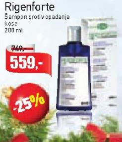 Šampon za kosu Rigenforte