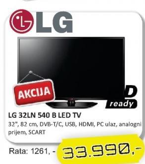 """Televizor LED 32"""" 32LN540B"""