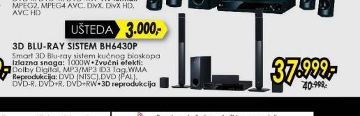 Blu-ray sistem BH6430P