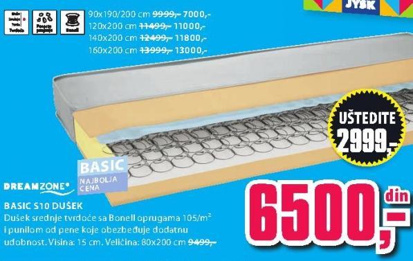 Dušek Basic S10 120x200