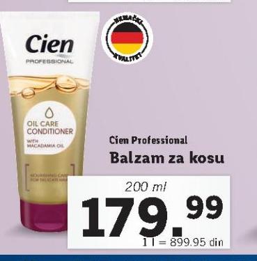Akcija Lidl - Cien, Balzam za kosu Professional 1329265