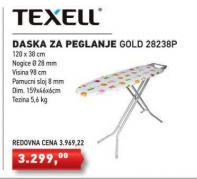 Daska za peglanje Goild, Texell