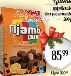 Napolitanke Duo narandža