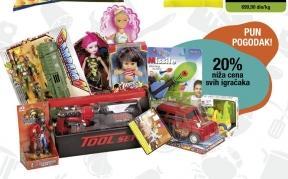 20% popusta na sve igračke