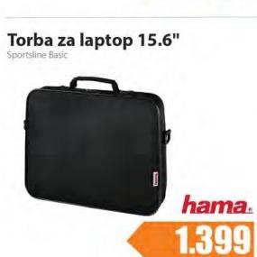 Torba za laptop 15,6'' , Sportsline Basic