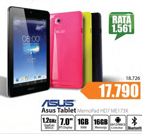 Tablet MemoPad HD7 Me173X