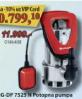 Pumpa za vodu RG-DP 7525 N