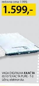 Vaga digitalna 65107 EXAC TA PURE-Td
