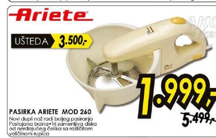 Pasirka MOD 260