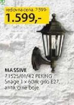 Baštenska lampa 71525/01/42 Peking