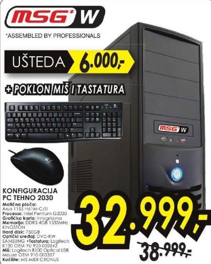 Računar PC Tehno 2030