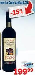 Crveno vino La Corte Antica