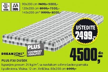 Dušek Plus F30 140x200