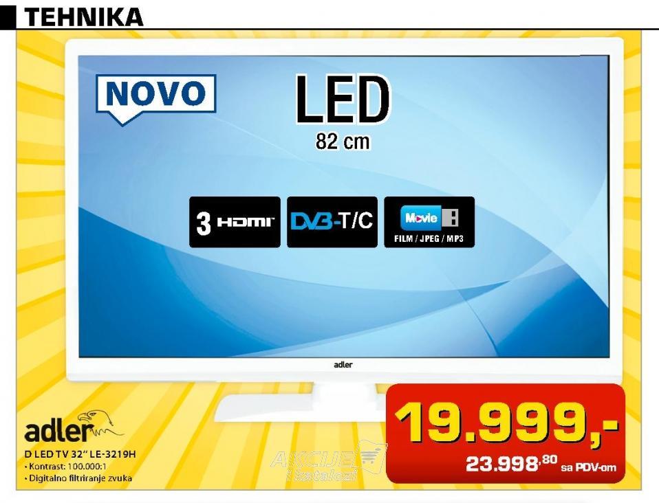 LED Televizor Le-3219h