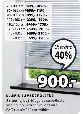Roletne Aluminijumske