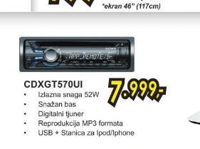 Autoradio CDX GT570UI