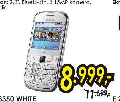 Mobilni Telefon S 3350 White