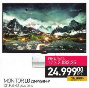 """Monitor 23"""" 23MP75HM-P"""